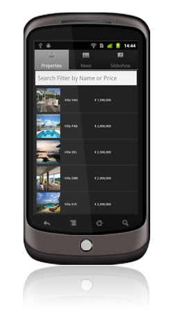 Sibarth Real Estate Android App Screen 4
