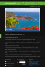 Saint Barth Villa LIG mini website