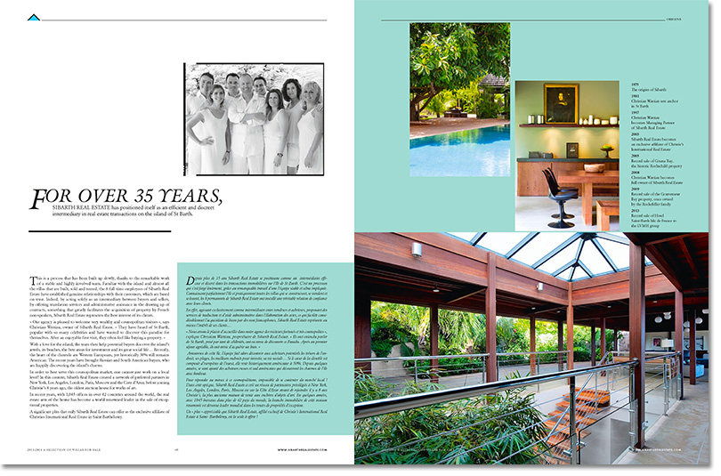 The 2014 Sales Brochure Is Here - Sibarth Real Estate - St Barts