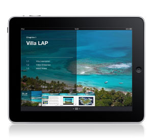 Villa LAP iPad Interactive Brochure