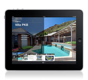 Villa PKB iPad Interactive Brochure