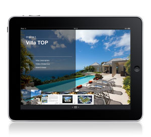 Villa TOP iPad Interactive Brochure