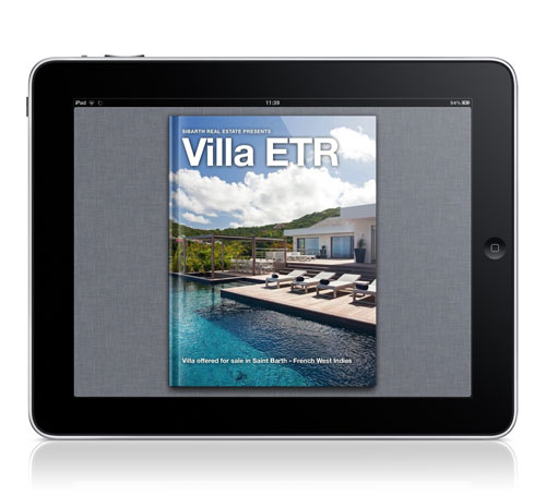 iPad Interactive Brochures Villa ETR Cover