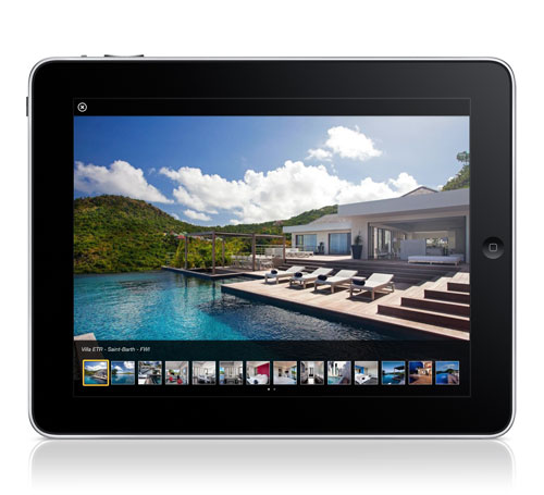 iPad Interactive Brochures Villa ETR Pictures Slideshow